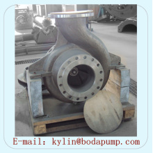 Pompe centrifuge horizontale anti-abrasion à base de titane