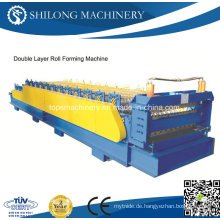 China-automatisierte gewölbte Metall-Plattenwand-Plattenbrett-Umformmaschine