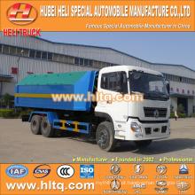 DONGFENG 6X4 18tons 210hp caminhão de lixo hidráulico de elevação Preço do carro à esquerda no melhor preço na China.