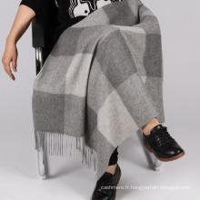 bon marché 100% laine couverture pour les genoux