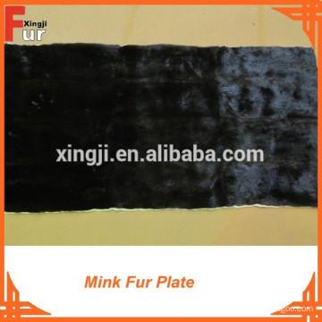 Mink Fur Plate ganze Haut