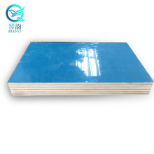 At competitive price 9mm Birch core pp green plastic film faced plywood sheet