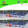 Eight Bed Trampoline with Safety Net