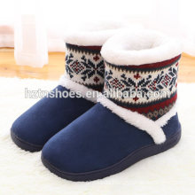 Wholesale price factory men's boot slipper thick sole warm winter slipper
