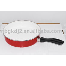 эмаль сковорода с бакелитовой ручкой