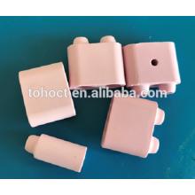 Almofadas de aquecimento de cerâmica rosa Almofada de cerâmica de esferas