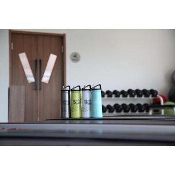 Bouteille d'eau de sports de plein air de mur simple d'acier inoxydable Ssf-580 Flask Ssf-580