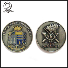 Quantity Engraved Plating Metal Custom Design Coins