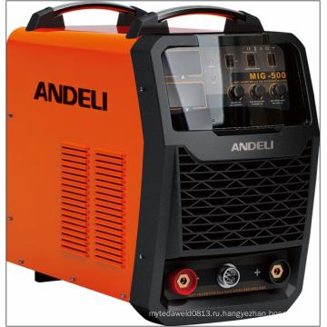 На IGBT инвертор MIG500 газа СО2 сварочный аппарат сварочный аппарат