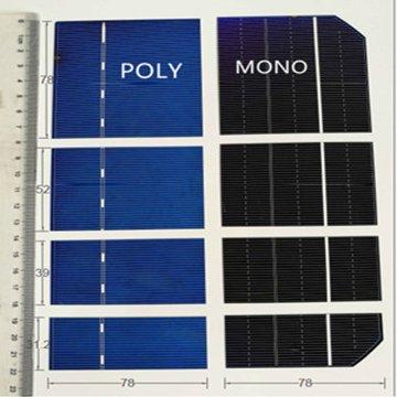 Моно / поли солнечные элементы могут быть отрезаны в любом размере