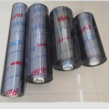 Feuille souple en PVC super transparente en rouleaux