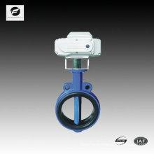 300mm wafer type butterfly valve 24v 110v 220v