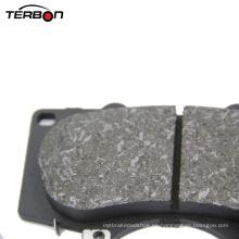 Pastilla de freno de material metálico bajo para automóvil japonés Toyota