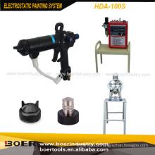 Sistema eletrostático da pintura da máquina de revestimento do líquido eletrostático
