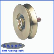 Roda da porta deslizante do metal do preço de fábrica