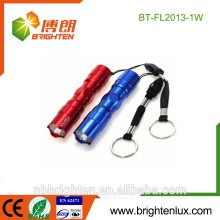 Factory Supply Promotional Gift Mini Size Emergency Usage Aluminum Cheap OEM Best 0.5W metal keychain torch