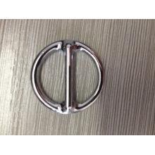 Hardware de acero al carbono metálico soldado anillo redondo