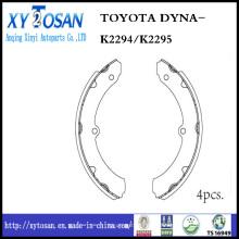 Sapata de freio para Toyota Dyna K2294 / K2295