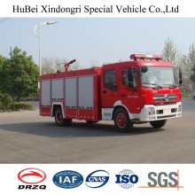 8ton Dongfeng Water Tank Type Fire Fighting Engine Truck Euro 4