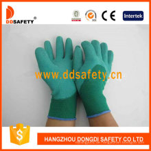 Grüne Nylon Grüne Latex Handschuhe Dnl612