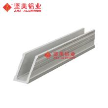 Perfil de estruturas de montagem de painel solar de alumínio