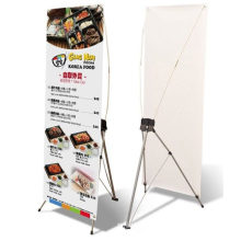 80X180cm outdoor x - stand banners with adjustable size stand