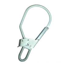 SH1090 CE Large Double action closure one-handed Galvanized Steel Snap Hook