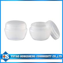 Hy-Pj-007D Frostted cosméticos loción botella o tarro de plástico