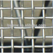 Grillage carré galvanisé et grillage carré et treillis métallique concret galvanisé