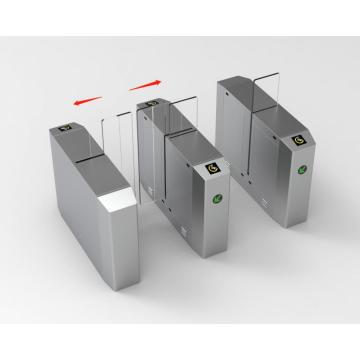 Раздвижные барьерные ворота контроля доступа