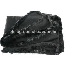 cashmere fur edged pashmina wraps