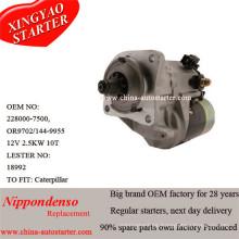 Caterpiller Motor Diesel usado Starter 0r9702, Leser18992