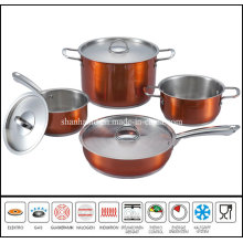 7PCS Color Stainless Steel Kitchen Ware Set
