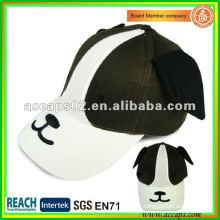 Chapeau de baseball pour enfants modèle de chien BC-c0007