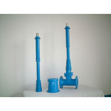 robinets-vannes résilients avec tige d'extension