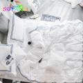 800TC ensemble de draps en coton avec qualité de broderie de luxe