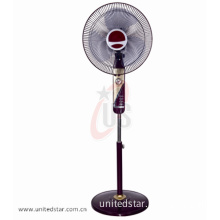 Remote Bamboo Folding Stand Fan Household Air Cooling Fan