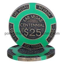 Las Vegas Centennial Metal Chip (SY-F03)
