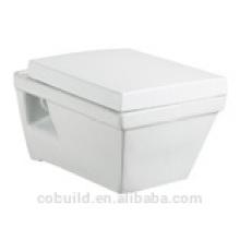 CB8111 AAA estándar de calidad montaje en pared cuadrada aseo occidental