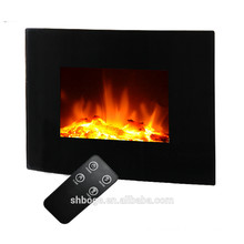 """2016 new 26"""" curved wall mounted electric fireplace remote control"""