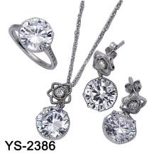 Комплект ювелирных изделий способа 925 серебряный (YS-2386)