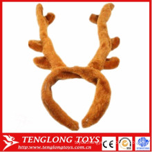 cheap and cute plush antler hair band/ head band