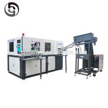 Máquina de moldagem por sopro por estiramento de um único estágio / máquina de moldagem de engarrafamento de plástico