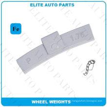 Peso de equilibrio de rueda para rueda de automóvil (serie Fe-P)