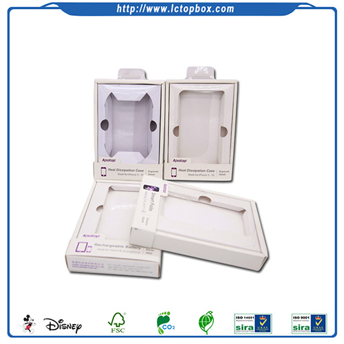 Phone Case Packaging Paper Color Window Box