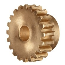 Custom Brass Precision Worm Gear for Agriculture Equipments