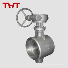 Сварные воздуха цинк полипропилен Tri-струбцины шарикового клапана