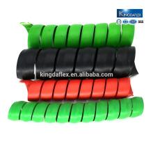 Beste Qualität schwarz rot Spirale Hydraulikschlauch Schutz