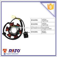 Pièces de rechange de moto chinoises C100 Bobine magnétique de moto avec 6 poteaux d'onde complète