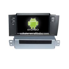 Quad-Cord Android 4.4.2 / 5.0 dvd de voiture pour Citroen C4L avec voiture GPS / Glonass, Bluetooth, DVD, Radio, 3G, Wifi, Miroir-Link soutien SWC
